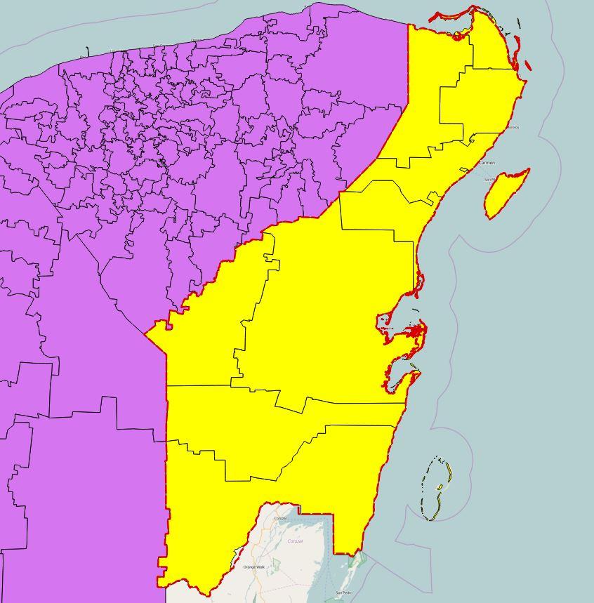 Municipalities in Quintana Roo state.