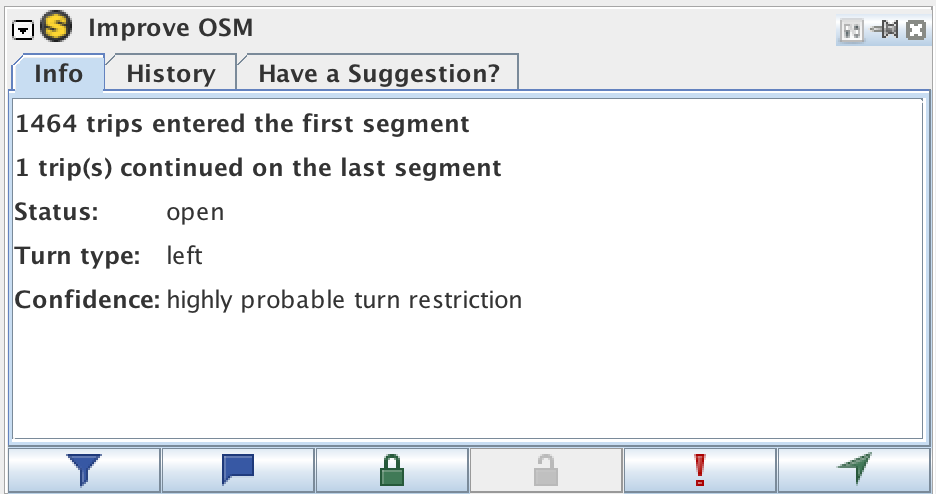 The metadata we display for a turn restriction is now more relevant.